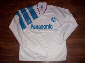 Classic Football Shirts | 1991 Marseille Vintage Old Soccer Jerseys